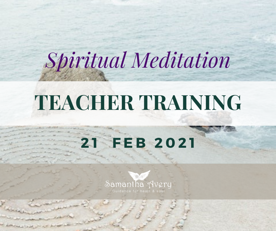 Spiritual Meditation Teacher Training course with Samantha Avery