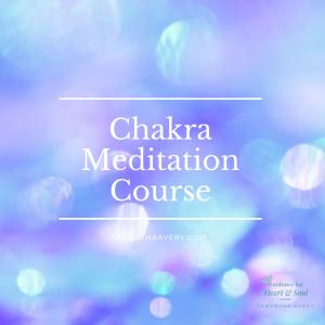 sparkles of rainbow light representing chakra balancing