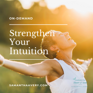 woman with arms outstretch in sun welcoming intuition